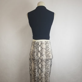"""Snake Your Time"" Snake Print skirt"