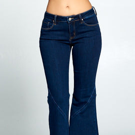 "The ""New Found Fun"" Mid-Rise Super Wide Leg Jeans"