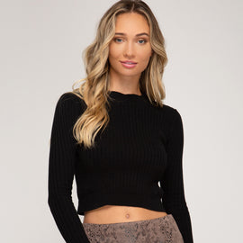 """BLACK"" SNAKE SKIN FAUX SUED MINI SKIRT"