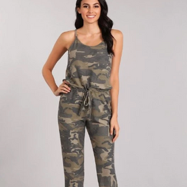 "The ""Got You Covered"" Camouflage- Jumpsuit"