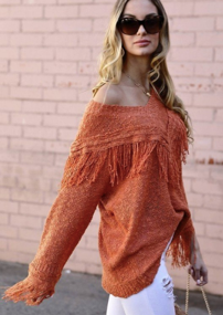 The Perfect Tassel Sweater