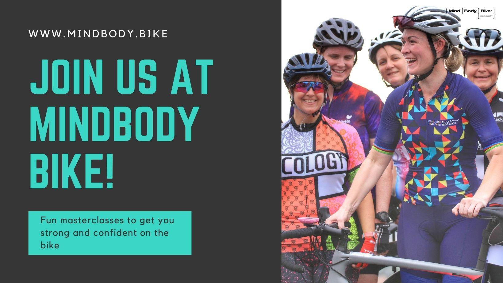 MindBodyBike women's cycling Chicks Who Ride Bikes