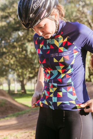 **Kaleidoscope** Short Sleeve Cycling Jersey