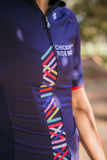 **Classic & Sleek** Short Sleeve Cycling Jersey