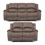 Darwen Smoke fabric Sofa Range