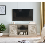 Sienna Wide TV Unit Champagne Silver