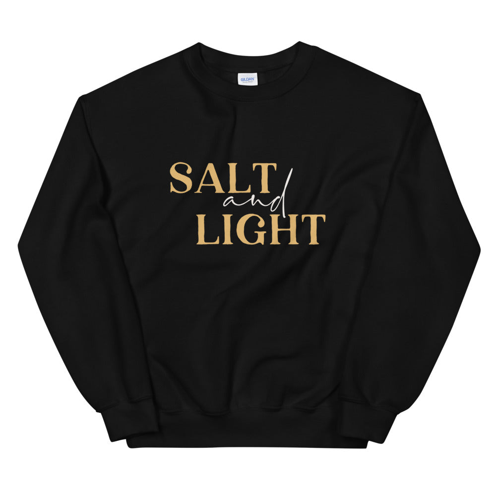 Salt + Light Unisex Sweatshirt