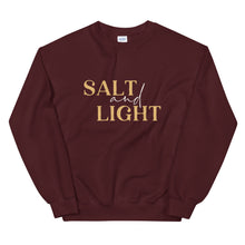 Load image into Gallery viewer, Salt + Light Unisex Sweatshirt