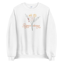 Load image into Gallery viewer, Rejoice Always Classic Unisex Sweatshirt