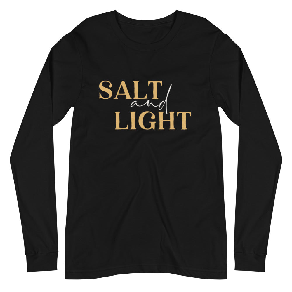 Salt + Light Unisex Long Sleeve Tee