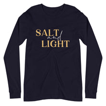 Load image into Gallery viewer, Salt + Light Unisex Long Sleeve Tee