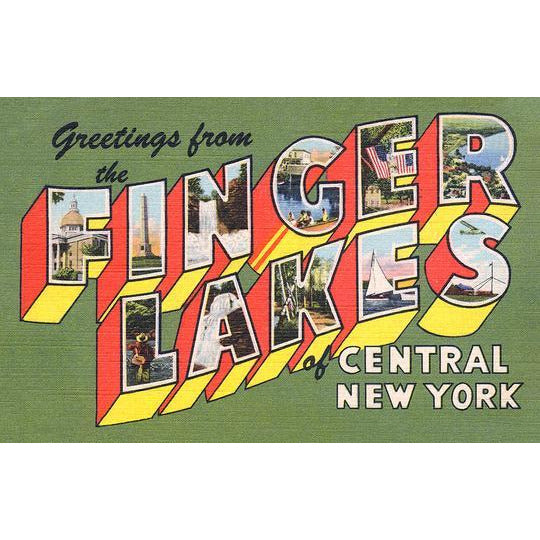 Finger Lakes Matted Print (8x10)