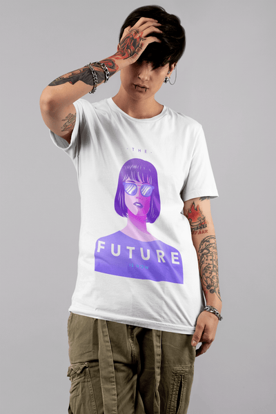 Tricou Future Is Now - PRINTABIL.RO