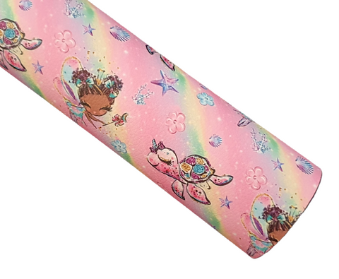 Under the Sea - Pastel Fairy Wishes - Litchi Faux Leather