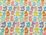 Carebears - Canvas Leatherette Full Sheet - (measures 20 x 34cm) larger than standard A4 size Half Sheet -  (measures 20 x 17cm) larger than standard A5 size (available upon request if in stock, please contact us)