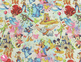 Disney Characters - Canvas Leatherette.  Choose from a full sheet (larger than A4) or half sheet (larger than A5).  Perfect for all your craft projects, including Hair Bows, Headbands, Earrings, Jewellery accessories, Notebook covers, Make-up Bags, Purses & Pencil Cases and many more! Our printed and plain Faux Leathers can be easily cut by hand with scissors, cutting dies or machines such as Sizzix Big Shot.