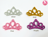 Glitter Crown Embellishment