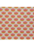 Iced Pink Donuts - Litchi Faux Leather
