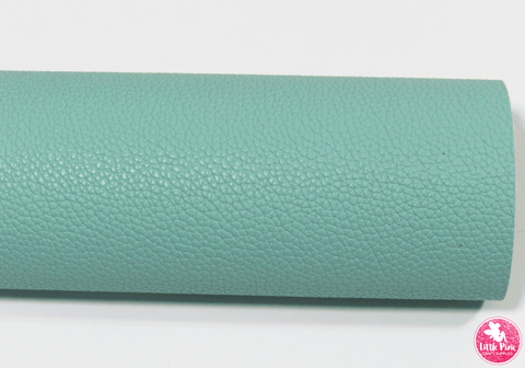Sage Green - (0.75mm) Litchi Print Leatherette