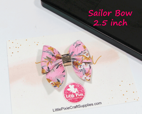 "Sailor - 2.5"" Bow Die"