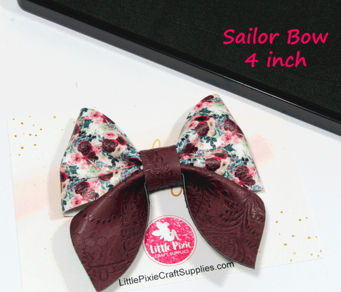 "Sailor - 4"" Bow Die"