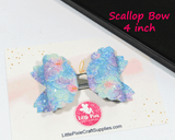 "Scallop - 4"" Bow Die (Double Stacker)"