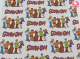 Scooby Doo - Canvas Leatherette Full Sheet - (measures 20 x 34cm) larger than standard A4 size Half Sheet -  (measures 20 x 17cm) larger than standard A5 size (available upon request if in stock, please contact us)