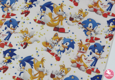 Sonic - Canvas Leatherette