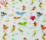 Tinkerbell & Friends - Litchi Print Leatherette Full Sheet - (measures 20 x 34cm) larger than standard A4 size Half Sheet -  (measures 20 x 17cm) larger than standard A5 size (available upon request if in stock, please contact us)