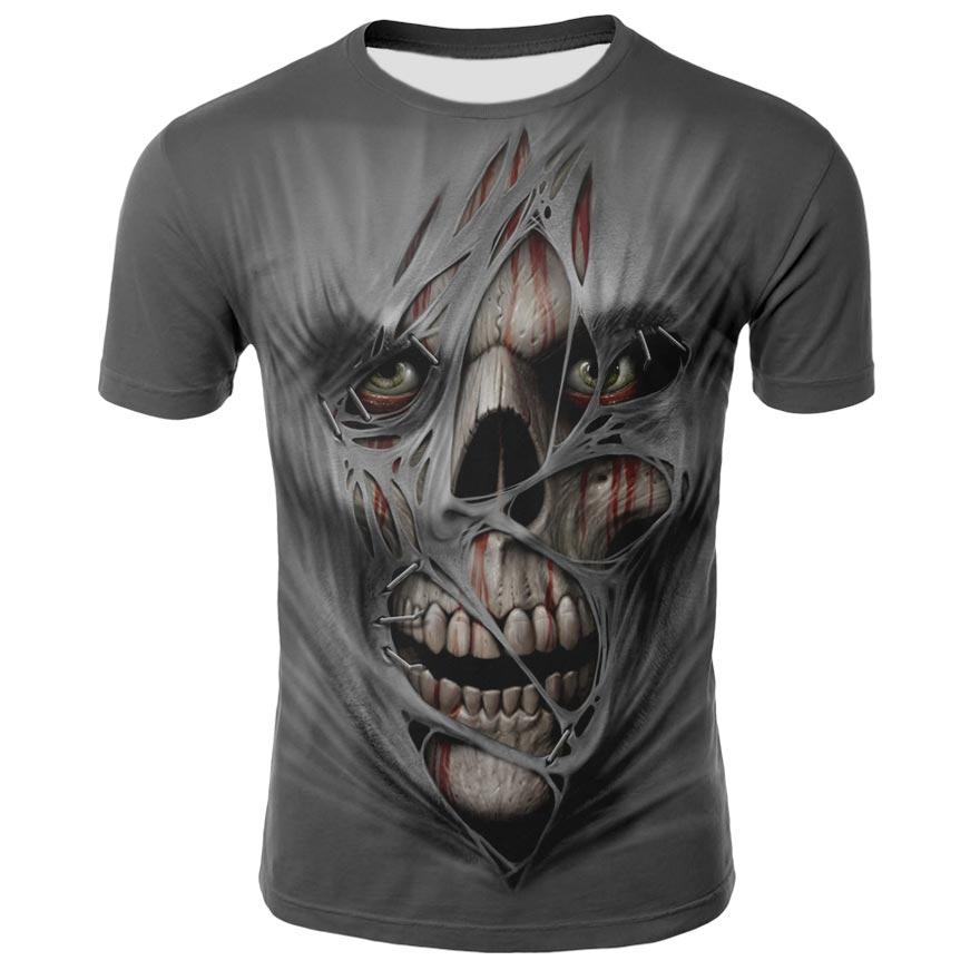 Skulls T Shirts 3D Graphic Design