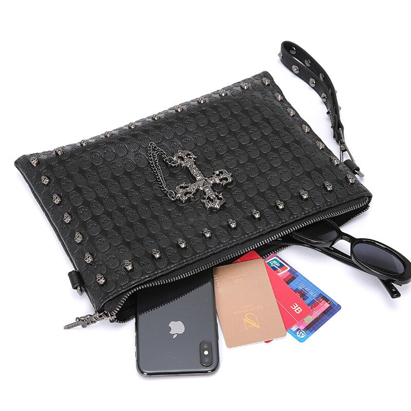 Skull Shoulder * IPAD  Bag