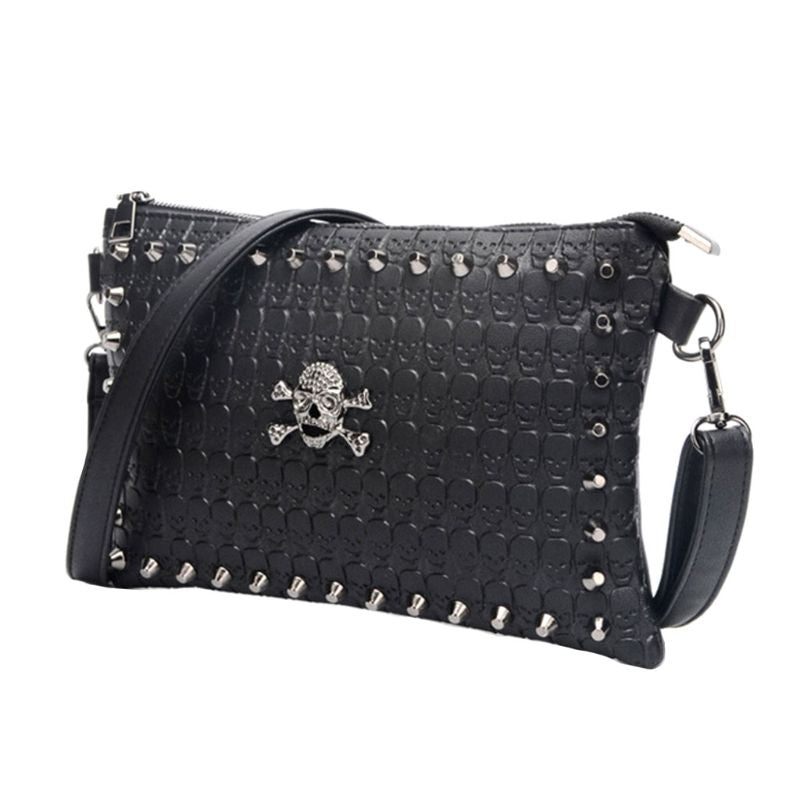 Skull Crossbody Vintage Handbag  *Messenger Shoulder Bag