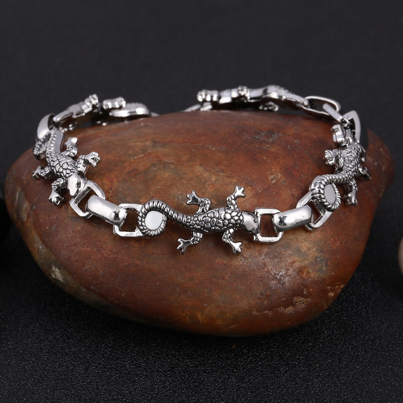 ZOSHI 316L Stainless steel Cool Men's Steel High Quality Biker Man Skull charms Bracelet Chain Factory Price Bracelets & Bangles