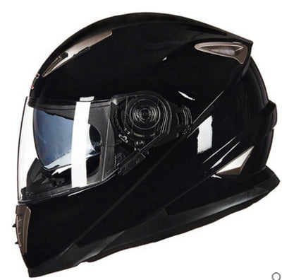 GXT SKULL Moto helmet winter Double visor Men motorcycle full face helmets motorbike M L XL size Racing helmet