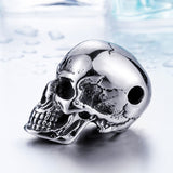 Beier new store 316L Stainless Steel pendant necklace new arrival super punk skull biker pendant  Fashion Jewelry  LLBP8-216R