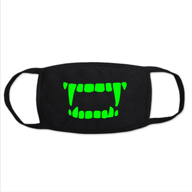 Skull Face Mask  *Glow in the Dark