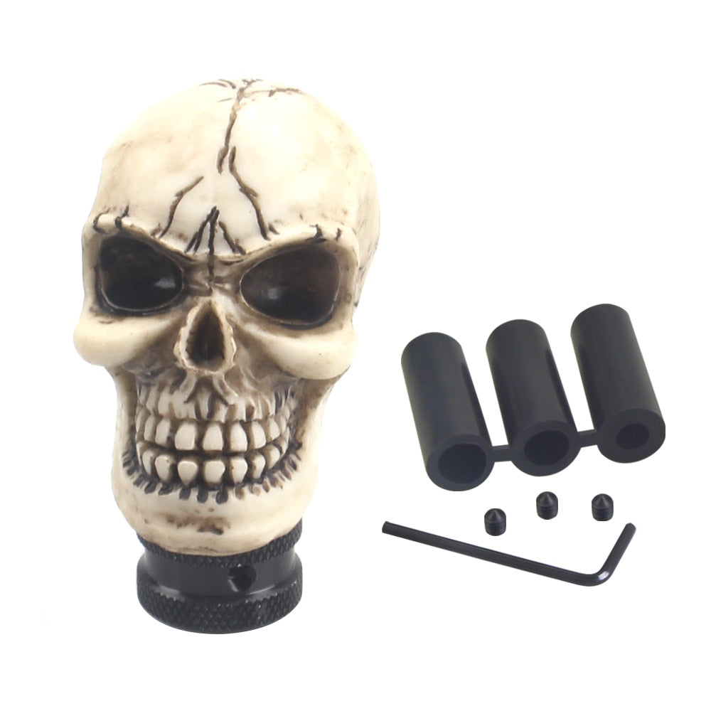 Skull Gear Shift Knob  *Manual Car shift Lever