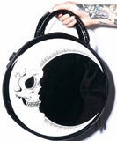 Moon Skull Circular Design Women Shoulder Bag