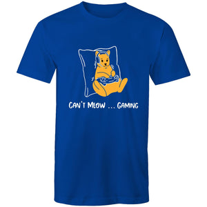 Sportage Surf Mens Tee - Gaming Cat - Meow Express