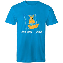 Load image into Gallery viewer, Sportage Surf Mens Tee - Gaming Cat - Meow Express