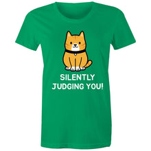 Load image into Gallery viewer, Sportage Surf Womens Tee - Silently Judging You! - Meow Express