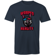 Load image into Gallery viewer, Sportage Surf Mens Tee - Warped Reality Cat - Meow Express