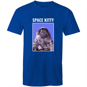 Sportage Surf Mens Tee - Space Kitty - Meow Express