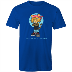 Sportage Surf Mens Tee - Owning The Streets Cat - Meow Express