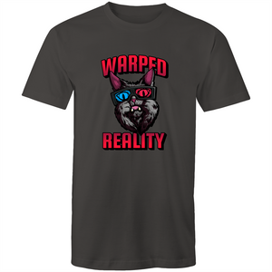 Sportage Mens Tee - Warped Reality Cat - Meow Express