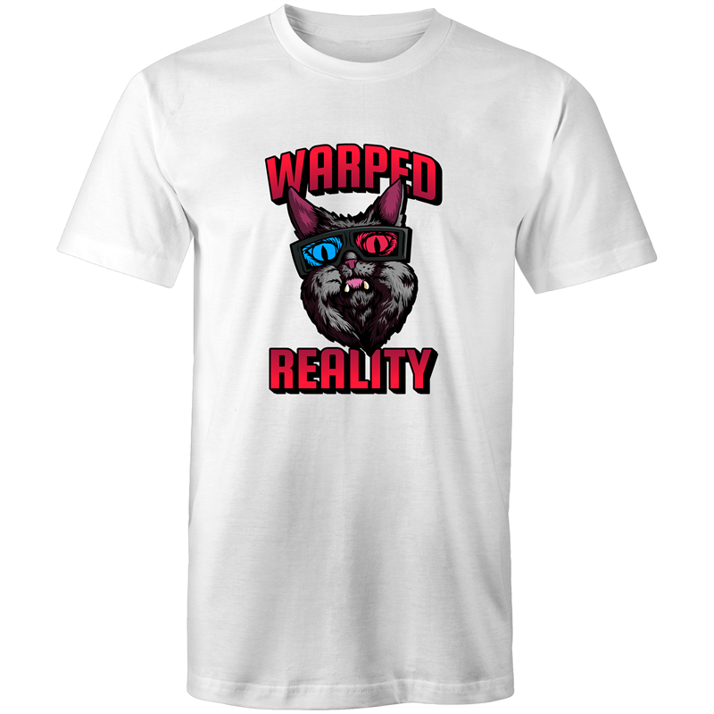 Sportage Surf Mens Tee - Warped Reality Cat - Meow Express