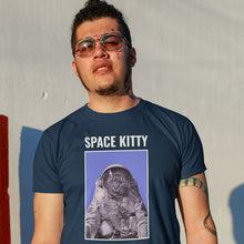 Load image into Gallery viewer, Sportage Surf Mens Tee - Space Kitty - Meow Express