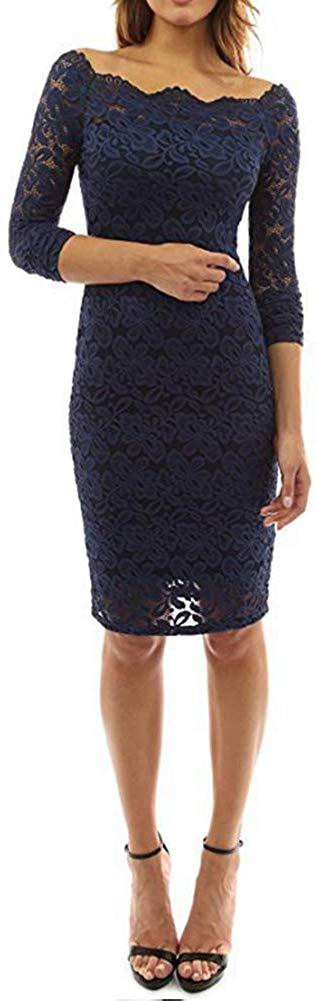Salimdy Women Sexy Floral Lace Mesh Sheer Hollow Out Deep V Neck Spaghetti Strap Bodycon Pencil Mermaid Midi Dress