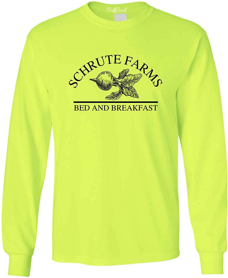 NuffSaid Schrute Farms Beets Bed and Breakfast Long Sleeve Shirt - Unisex 1