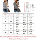 Womens Leopard Print Tops Long Sleeve Round Neck Casual Autumn T Shirts Tees